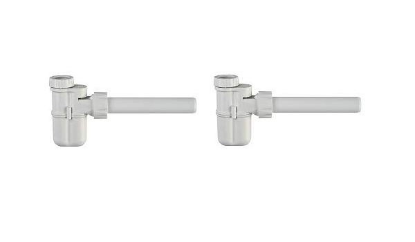 1-1//4 Outlet Studor 20395 Trap-Vent 2 White Integrated Trap and Air Admittance Valve