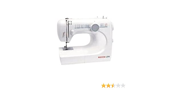 Necchi N274 - Máquina de coser (Color blanco): Amazon.es: Hogar