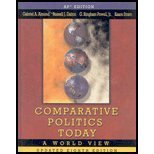 Comparative Politics Today: a World View : School Binding, Almond, 0131945688