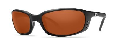 Costa Del Mar Brine Sunglasses, Black, Copper 580P - Costa Sunglasses Mar Del Discount