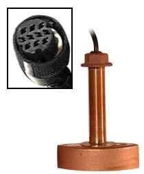 (Furuno 525t-Bsd Bronze Thru-Hull Transducer W/Temp, 600w (10-Pin))