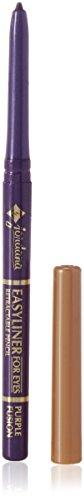 Jordana Easy Eye Liner Pencil Purple Fusion (Best Retractable Pencil Eyeliner)