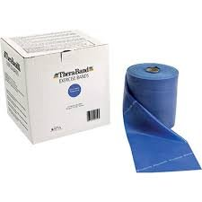 Thera-Band Professional Resistance Band - Blue, X-Heavy - 50 yd roll by TheraBand