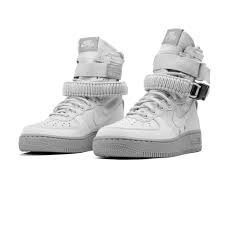 Nike Womens SF Air Force 1 Boots Vast Grey/Atmosphere Grey 857872-003 Size 10.5 by NIKE (Image #3)