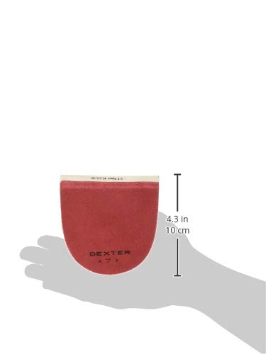 Bowling-Zubeh/ör Dexter H7 Lederabsatz Rot