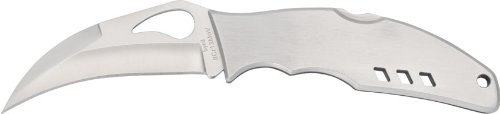 Byrd Crossbill Stainless Plain Edge Knife, Outdoor Stuffs