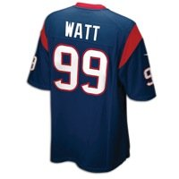 Nike Houston Texans JJ Watt Blue Youth Game Jersey (Youth XL)