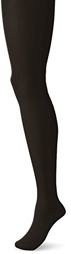 [Gia-Mia Dance Women's Footed Tight Jazz Ballet Costume Performance Team, Black, L/XL] (Black Ballet Dance Costumes)
