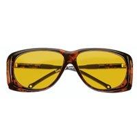 エッシェンバッハ オーバーサングラス [cut-off filter spectacles] イエロー 大 紫外線を防ぐサングラス 16604502 保護メガネ 粉じん UVカット メガネの上   B005I1VHXK