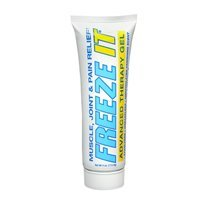 Freeze It Freeze It Freeze-It Advanced Therapy Gel, 4 oz (Pack of 3) Advanced Therapy Pain Relief Gel