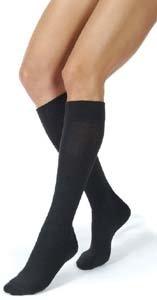 Jobst ActiveWear Knee High 30-40 mmHg Large Full Calf Black