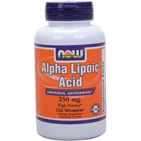 NOW Foods Alpha Lipoic Acid 250mg
