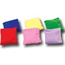 "Dozen Assorted 3.5"" Bean Bags for Games"