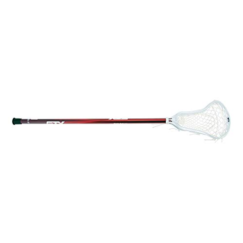 STX Lacrosse Exult 400+ Girls Complete Stick, Red