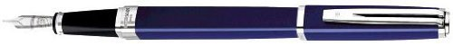 Waterman Exception Slim Blue Lacquer - Waterman Exception Slim Blue Lacquer ST Medium Point Fountain Pen - 35855 by Waterman