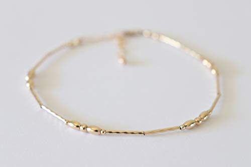 Gold Anklet and Beach Jewelry Simple - Gold Filled Anklet