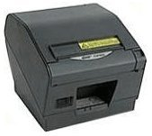Star Micronics 39443911 Model TSP847IIU-24GRY Thermal Printer, Friction, Cutter/Tear Bar, USB, Without Power Supply, Gray