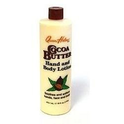 QUEEN HELENE, Fair Trade Cocoa Butter Body Lotion - 12 oz (Fair Trade Cocoa Butter)
