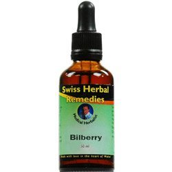 Swiss Remedies Herbal (Swiss Herbal Remedies Bilberry Tincture, 50ml)