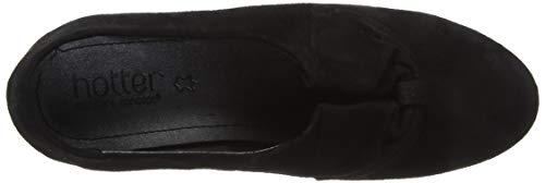 Para Negro Black Cerrada Punta Donna 26 Con Hotter Zapatos Mujer Tacón De jet zwSxU0wnfq