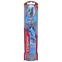 Colgate Total 360 Advanced Floss-Tip Battery Toothbrush, Soft, 1 ea