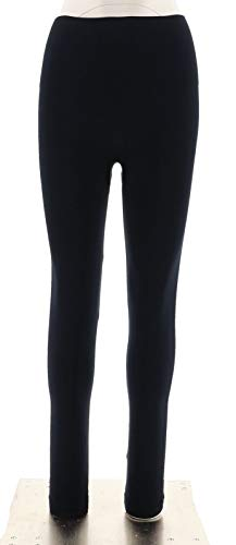SPANX Look Me Now Wide Waist Tummy Control Leggings Port Navy 1X New A288131 ()