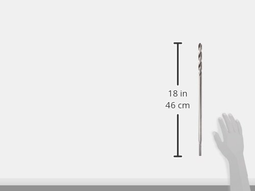 18-Inch by 5//8-Inch IRWIN 1890713 Straight Shank Installer Drill Bit for Wood