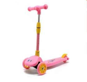 Zhicaikeji Nuevo Scooter de niños Plegable Pedal para niños ...