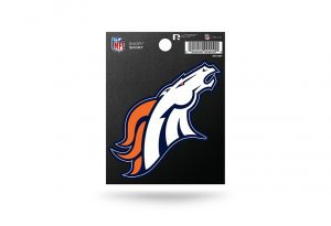 Rico Industries NFL Denver Broncos Die Cut Team Logo Short Sport Sticker