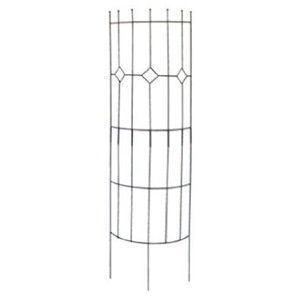 Panacea Semi-Round Arts & Crafts Trellis, Black, 72