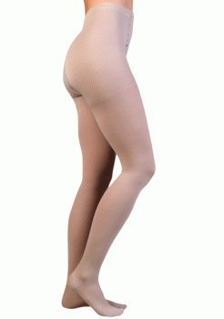Juzo 2081AT43 V Soft 20-30mmHg High Elastic Open Toe Pantyhose - Pink44; V - Extra Large by Juzo