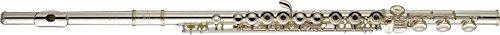 Yamaha YFL-481H Intermediate Flute, B footjoint - Solid Silver Flute