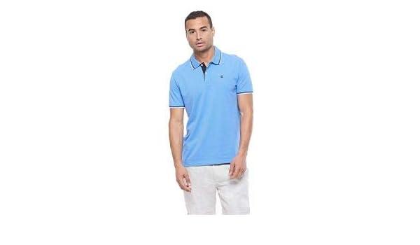 Champion - Polo M Art.211847 Col.bs028 Celeste Comfort Fit Azul ...