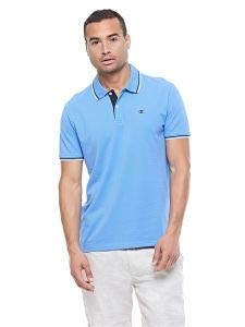 Champion - Polo M Art.211847 Col.bs028 Celeste Comfort Fit Azul ...