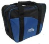 Epco Aurora Soft Pack Combo Bowling Ball Bags - Ball/Shoes - Black & Royal