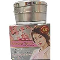 Sakura White DJ White Gluta speed White UVA UVB SPF 50 PA ++ 15 g. Silk Sunscreen...