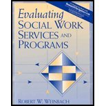 Evaluating Social Work Services & Program (05) by Weinbach, Robert W [Paperback (2004)] ebook