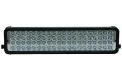 Infrared LED Light w/Trunnion U-Bracket - 80, 3-Watt IR LEDs - 1750'L X 300'W Spot Beam - 120-277V(-Intl Schuko-White-Spot)