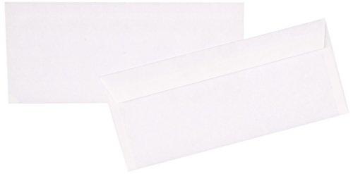 Columbian CO142 (#10) 4-1/8x9-1/2-Inch Grip-Seal Security Tinted White Envelopes, 45 Count - Qua Print