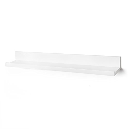 Floating Wall Shelf 24-inch by Americanflat, White