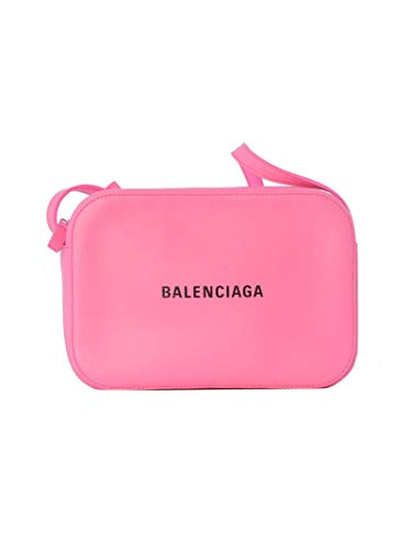 (Balenciaga Women's 552370Dlr8n5660 Pink Leather Shoulder)