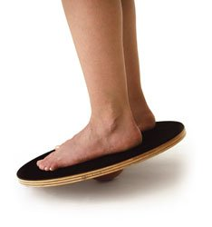 Therapiekreisel Kreisel Holz Balance Board Balancekreisel Gleichgewicht Koordination 40 cm. rund auch für Senioren da nur ca. 8 cm hoch beastbar bis ca. 110 kg.