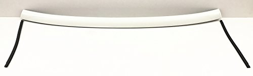 NAGD Front Windshield Upper Reveal Moulding for 2007-2014 Toyota FJ Cruiser White Top Molding (Toyota Fj Cruiser Aftermarket)