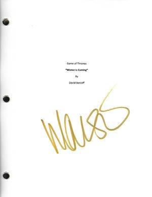 Game of Thrones Maisie Williams Signed In-person Game of Thrones Pilot script