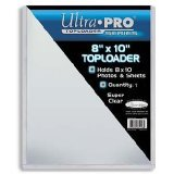 (1) 8x10 Ultra Pro Top Loader