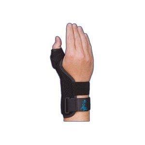 (Med Spec Suede Thumb Splint, malleable aluminum thumb, 9