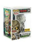 """Funko Pop! Movies #31 Predator """"Clear with Blood Splatter"""" (Hot Topic Exclusive)"""