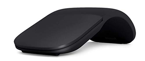 Microsoft Arc Mouse – Black (Certified Refurbished) by Microsoft