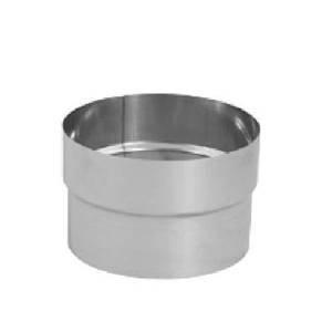 DuraVent 5DFS-FC 5'' Inner Diameter - DuraFlex SS Flexible Liner Chimney Pipe - S, Stainless Steel