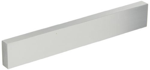 Securitron SFP-1/2CL-8 Stop Filler Plate, 8'' Length, 0.5'' Thick, Clear Anadized by Securitron